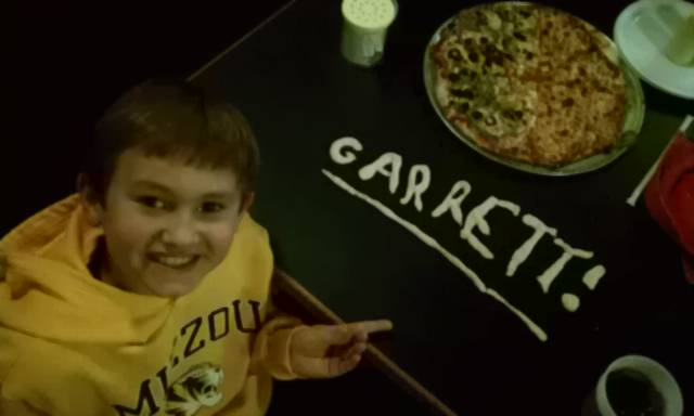 Garrett Makes His Name in Dough