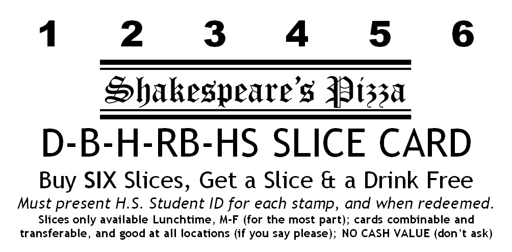Slice Card for HS