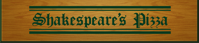 Shakespeare's Pizza logo